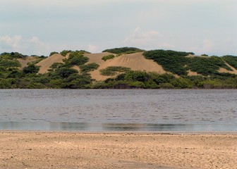 drying lake