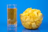 pineapple still-life poster