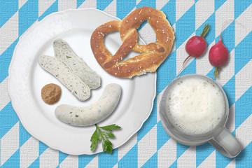 oberbayerisches weißwurstfrühstück