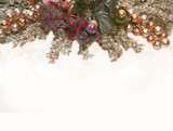 christmas stationery or place card poster