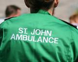 st john ambulance worker poster