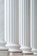 backlit columns