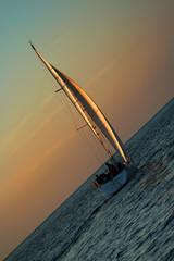 gold sails