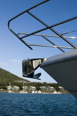 hamilton island anchor upclose