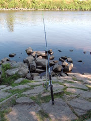 warten auf den fisch
