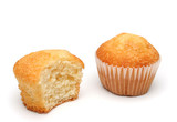 two delicious muffins poster