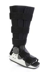 modern cast for a broken leg