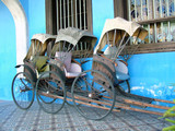 rickshaw side view