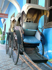 rickshaw front view
