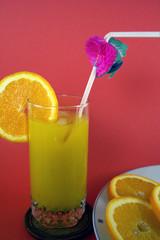 orange and kiwi coctail