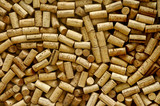 lot of wine corks poster
