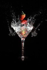 martini strawberry