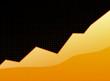success graph orange