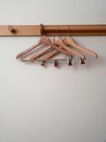 modern wear hangers set poster