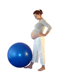 exercise for pregnant woman poster