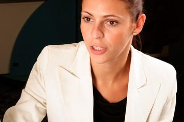 pretty confident business woman
