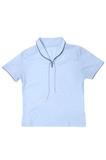 light blue female t-shirt poster