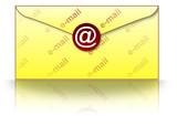 e-mail envelope poster