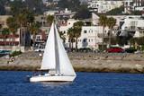 sailboat under way poster