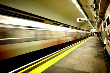 métro londonien