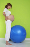 exercise in pregnancy poster
