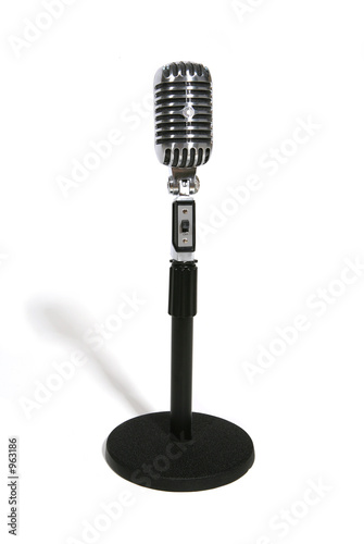 Poster microphone