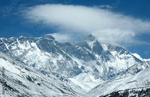 eastern wall of mount everest