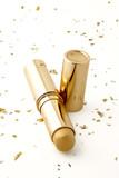 gold make-up stick poster