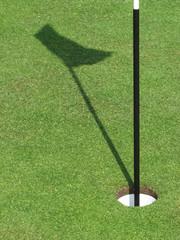 flag shadow