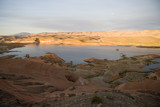 lake powell eater and rock overlook poster