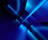 web design. blue abstract poster