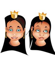 fille princesse
