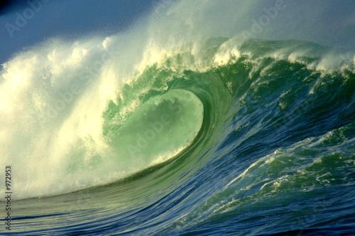 Leinwandbild Motiv waimea bay wave