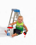 baby painter poster