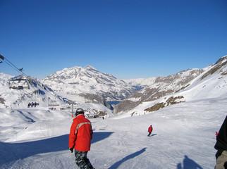 ski piste,france