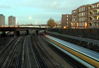 clapham junction speeding train