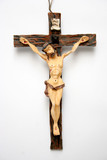 catholic cross poster