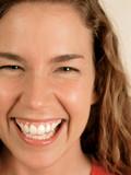green eyes laughing poster