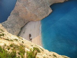 beach in zante? no complaints!