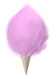 pink cotton candy poster