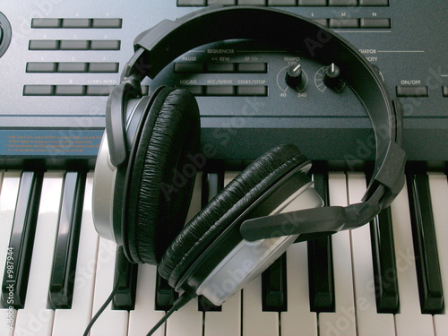 headphones and synth 2