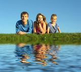 rodiny s vodou