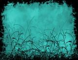 foliage grunge poster