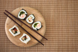 simple sushi poster