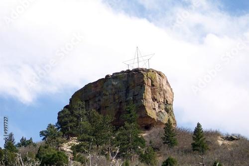 Leinwandbild Motiv the rock @ castle rock
