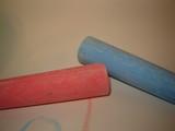 sticks of chalk poster