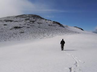 trek on the mountains