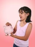 piggy bank deposit poster
