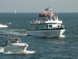 new england passenger ferry. poster