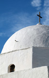 greek church dome poster